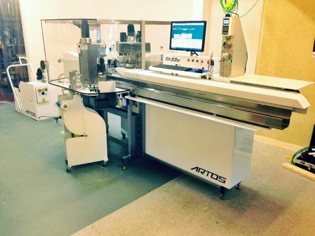 Fully Loaded Artos CR-22, Wire, Cut, Strip, Twist, Flux, Tin & Terminate System