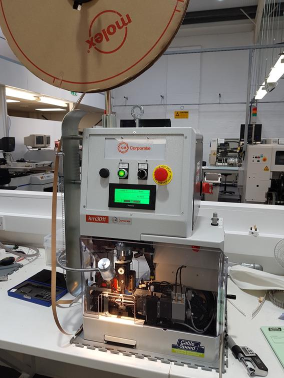 Installing… KM Corporate KM3011 Strip & Crimp Machine